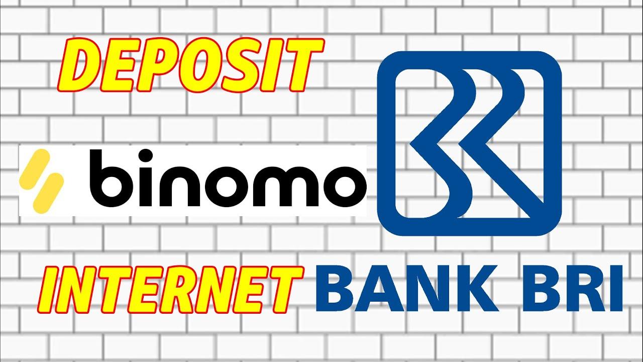 cara deposit binomo dengan internet