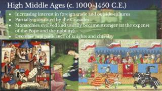 AP World History: Period 3: Medieval Europe Part IV