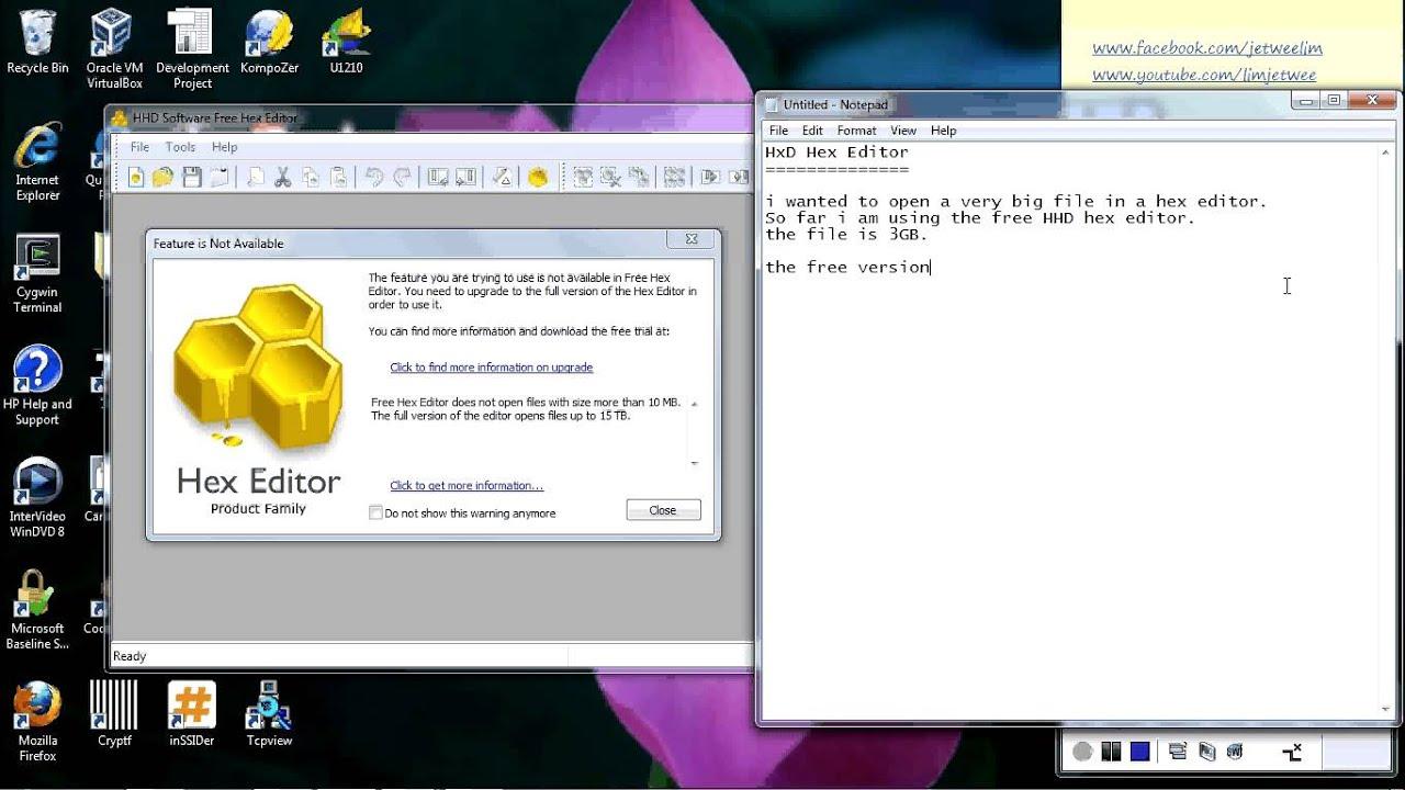Hex Editor Terminal
