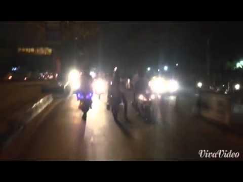 Hyd bike stunts in B P S BOY'Z