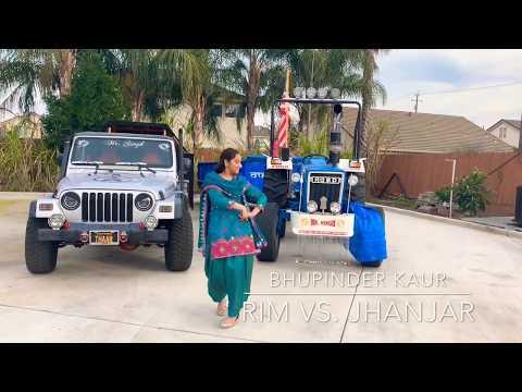 Rim Vs Jhanjar By Karan Aujla Gidha Dance