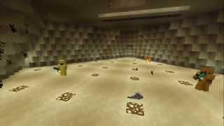 Minecraft: Веселая карта на прохождения на 2-х, от Саниппера