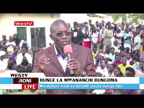 Didmus Baraza akashifu kupitishwa kwa hoja ya bunge la mwananchi Bungoma