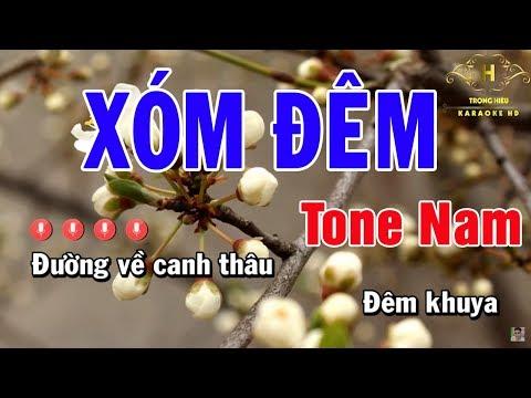 karaoke-xóm-Đêm-tone-nam-nhạc-sống-|-trọng-hiếu