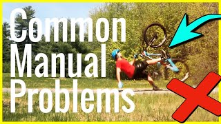 Learning how to manual a MTB Problems & Mistakes | Skills With Phil