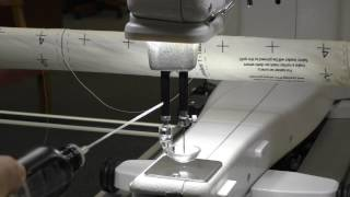 Oiling your Baby Lock Long Arm Quilting Machine