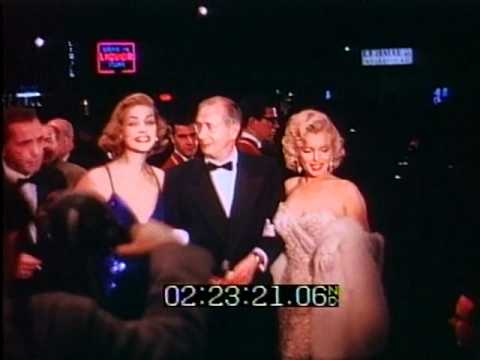 How to Marry a Millionaire Hollywood Premiere 1953 footage from Producers Library Los Angeles CA