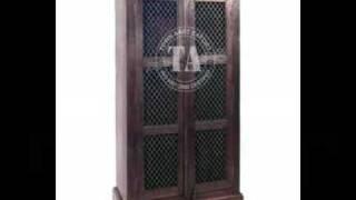 Furniture Wooden Almirah Indian Furniture & Handicraft Manufacturer And Exporter