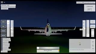 Butter Landing in VFS with A319 Lufthansa! [ROBLOX]