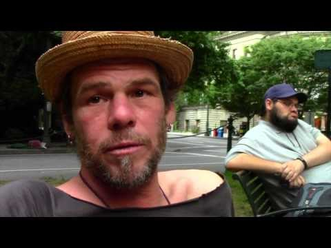 Interviews with Occupy Portland and Food Not Bombs Prayer Vigil To Lift The Camping Ban Summer 2013