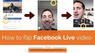 How to flip Facebook Live video when everything is backwards