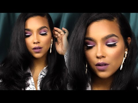 Purple Sultry Makeup Tutorial Using Jackie Aina's New Palette! thumbnail