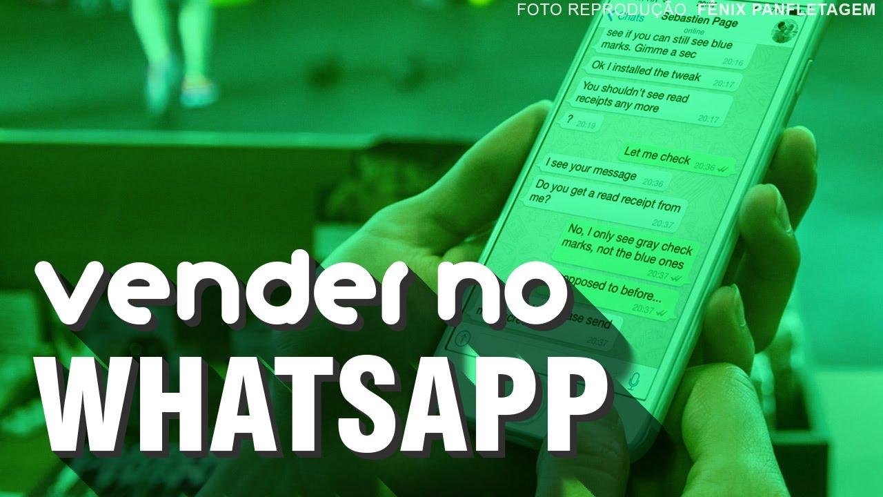 Como Vender Pelo Whatsapp Nova Técnica Aula01 Youtube