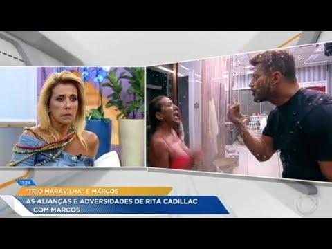 Rita Cadillac Fala Sobre Marcos Harter: