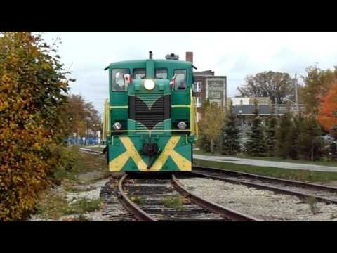 [HD] A Visit To The Elgin County Railway Museum (With PSTR Action)
