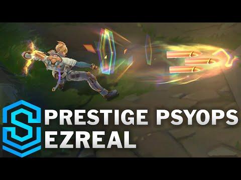 Prestige PsyOps Ezreal PENTA KILL POGGERS