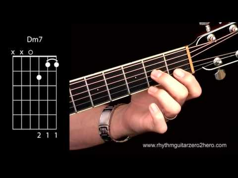 Guitar guitar chords dm7 : Acoustic Guitar Chords - Learn To Play D Minor 7 A.K.A Dm7 - YouTube