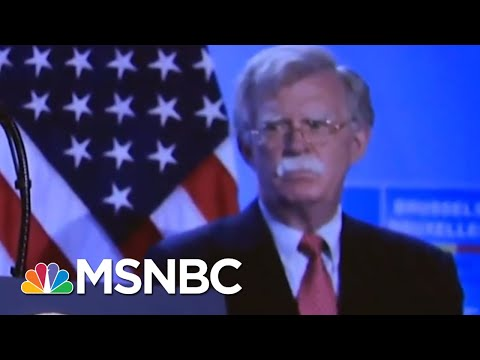 Bolton's Valiant Effort To Get Trump To Release Military Aid For Ukraine | Deadline | MSNBC