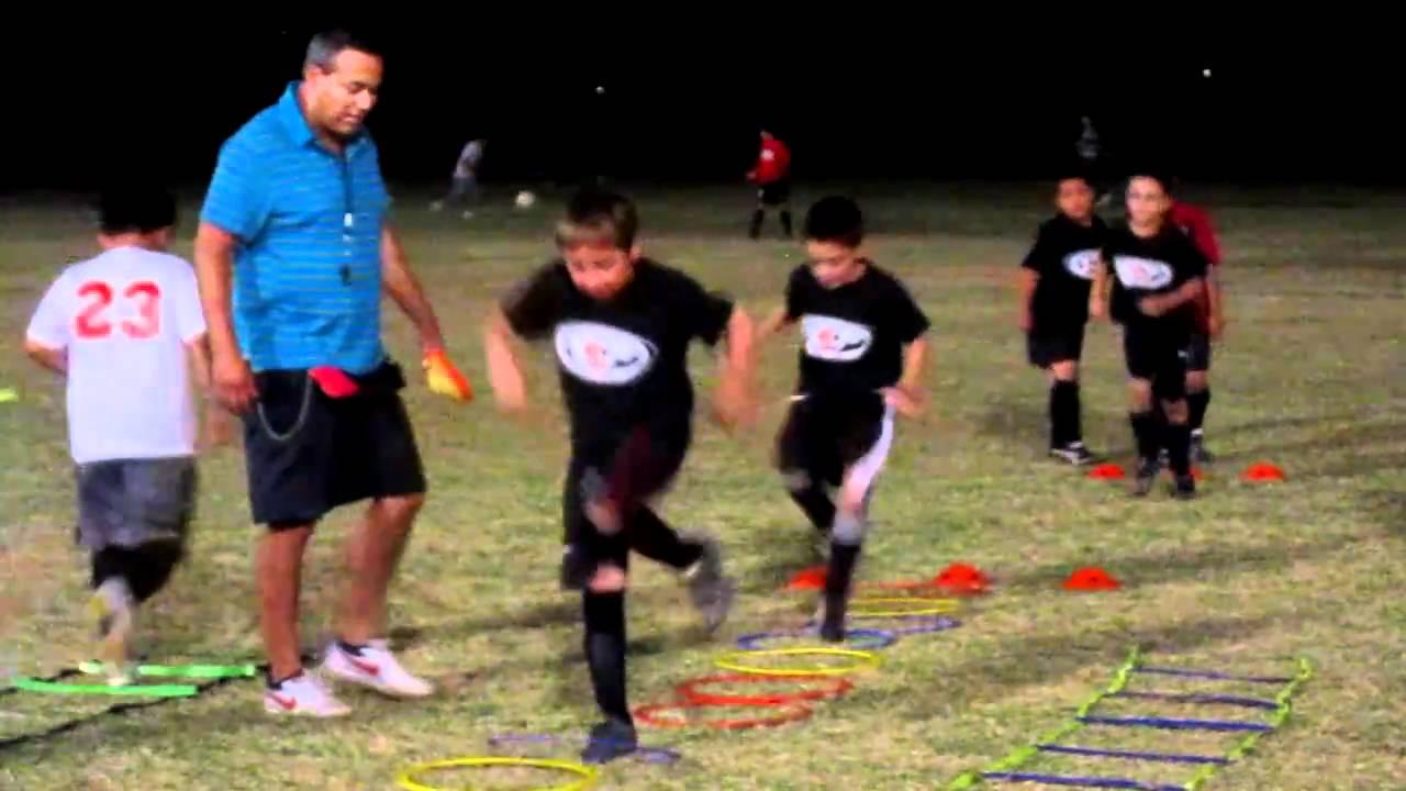 futbol entrenamiento aros nivel 10 de 50 ejercicios - YouTube 446df1aa41896