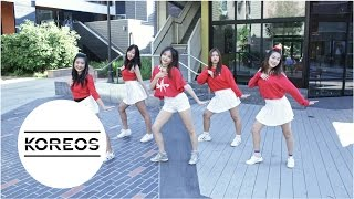 [Koreos] 레드벨벳 Red Velvet - 러시안 룰렛 Russian Roulette Dance Cover (Female Ver.)