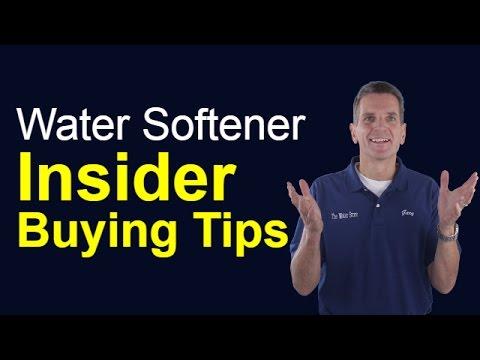 Water Softener Insider Buying Tips