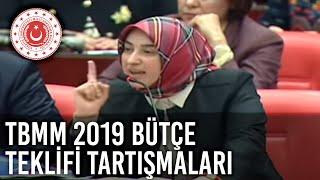 TBMM 2019 Bütçe Teklifi Tartışmaları Ardından Yapılan Konuşmalar