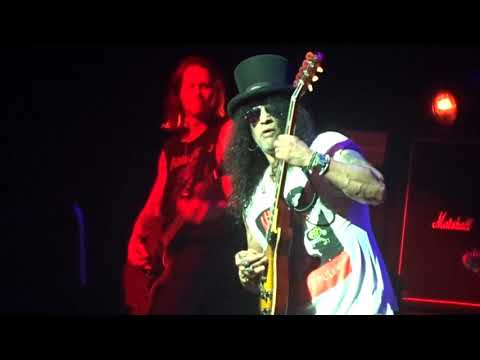 Slash guitar solos, Slash Feat Myles Kennedy & The Conspirators, Slash live at Perth RAC Arena 2019