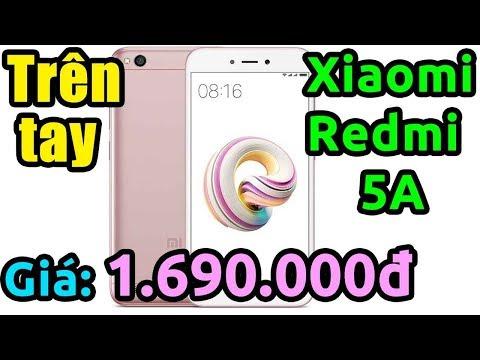 Mở Hộp Smartphone Rẻ Nhất Và Mạnh Nhất Trong Tầm Giá (Xiaomi Redmi 5A)