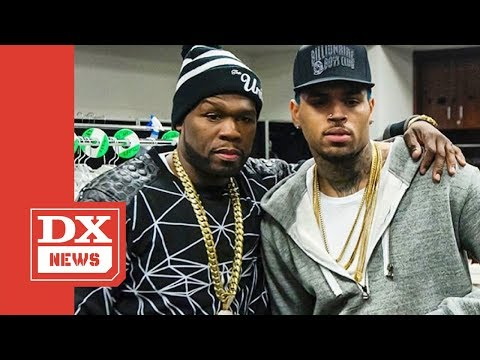 """50 Cent Proclaims Chris Brown Is """"Better"""" Than Michael Jackson"""