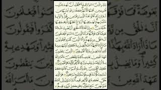 سورة البقرة كاملة برواية قالون مكتوبه الشيخ مصطفى الفرجاني قران كريم