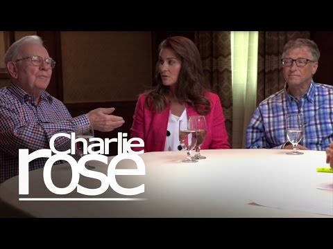 Warren Buffett, Bill & Melinda Gates on Innovation (Jul. 17, 2015) | Charlie Rose