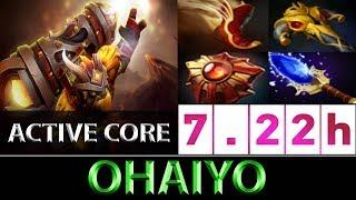 Ohaiyo [Earthshaker] Jumping Active Core Build ► Dota 2 7.22h