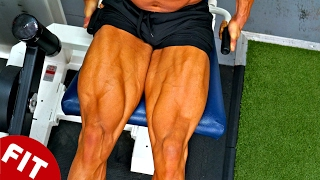 DYNAMIC TENSION FOR SHREDDED LEGS!