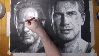 'Brother's Drake' (Uncharted 4) Speed Painting