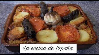"""Hola amigos bienvenidos a """"La cocina de España"""". En el vídeo de hoy vamos a hacer una receta típica Valenciana que es arroz al horno valenciano que nos lo ..."""