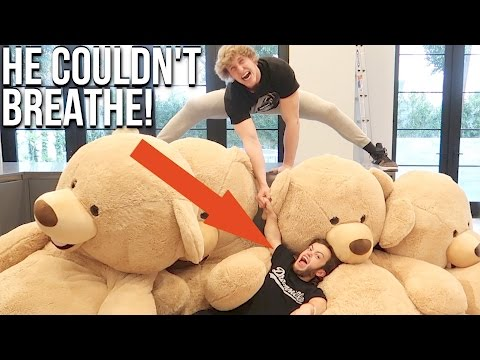 Thumbnail: DWARF GETS CRUSHED BY GIANT TEDDY BEARS! (Feat. Dwarf Mamba)