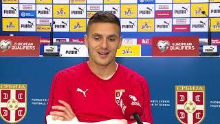 Tadić za SK pred meč kvalifikacija za EURO sa Ukrajinom   SPORT KLUB Fudbal