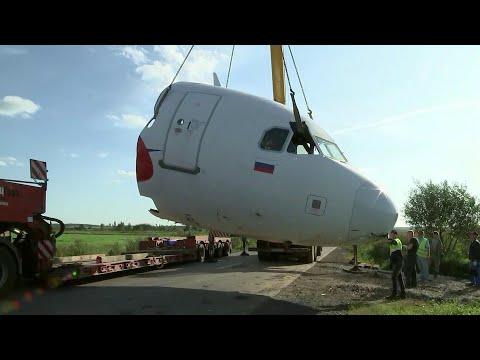На кукурузном поле в Жуковском разобрали самолет, совершивший аварийную посадку.