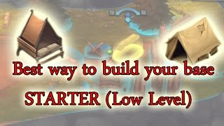 How to build your base | Best layout | Starter - low level | GUNS UP! PS4 |
