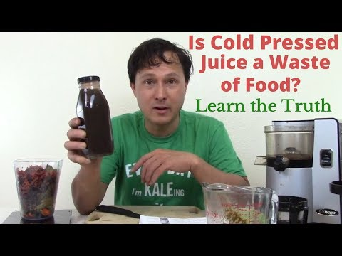Is Cold Pressed Juice a Waste of Food & Not Healthy? Learn t