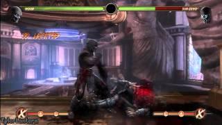 MK9 - Noob 59% Wall Combo (Without X-RAY) - Mortal Kombat 9 (2011) Noob Saibot