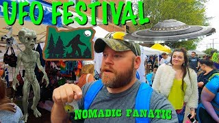 Aliens at UFO Festival in Oregon & Slide Issues...
