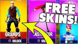 GET FREE FORTNITE SKINS!? 😍 New FREE SKINS are coming? Fortnite German