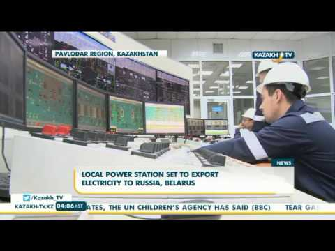 Local power station set to export electricity to Russia, Belarus - Kazakh TV