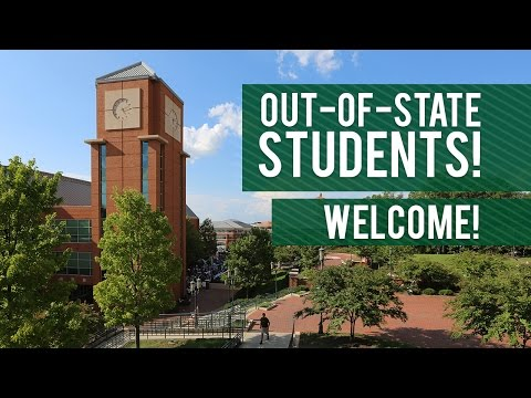 Out-Of-State Students, Welcome to UNC Charlotte