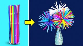 11 COOL CRAFTS WITH STRAWS