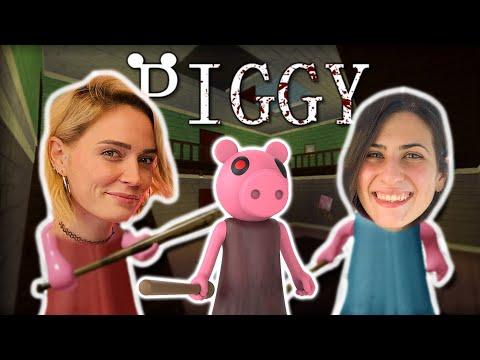 AIUTO!! gioco a PIGGY con @FrancyDreams ROBLOX HORROR!!  😱