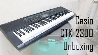 Casio CTK-2300 Unboxing
