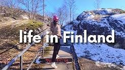 Life in Helsinki | Sakura Viewings |VLOG|🇫🇮