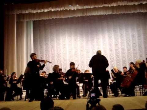 И.С.Бах Концерт ре минор (для двух скрипок) 3 часть  Вильям Хайло, Матвей Блюмин